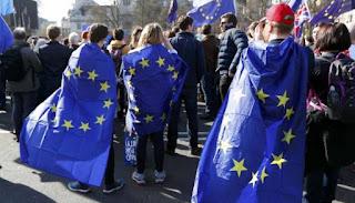 Μεγάλη διαδήλωση στο Λονδίνο κατά του Brexit