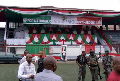 , Live: PDP Convention Venue in Port Harcourt Sealed by the Police, Latest Nigeria News, Daily Devotionals & Celebrity Gossips - Chidispalace