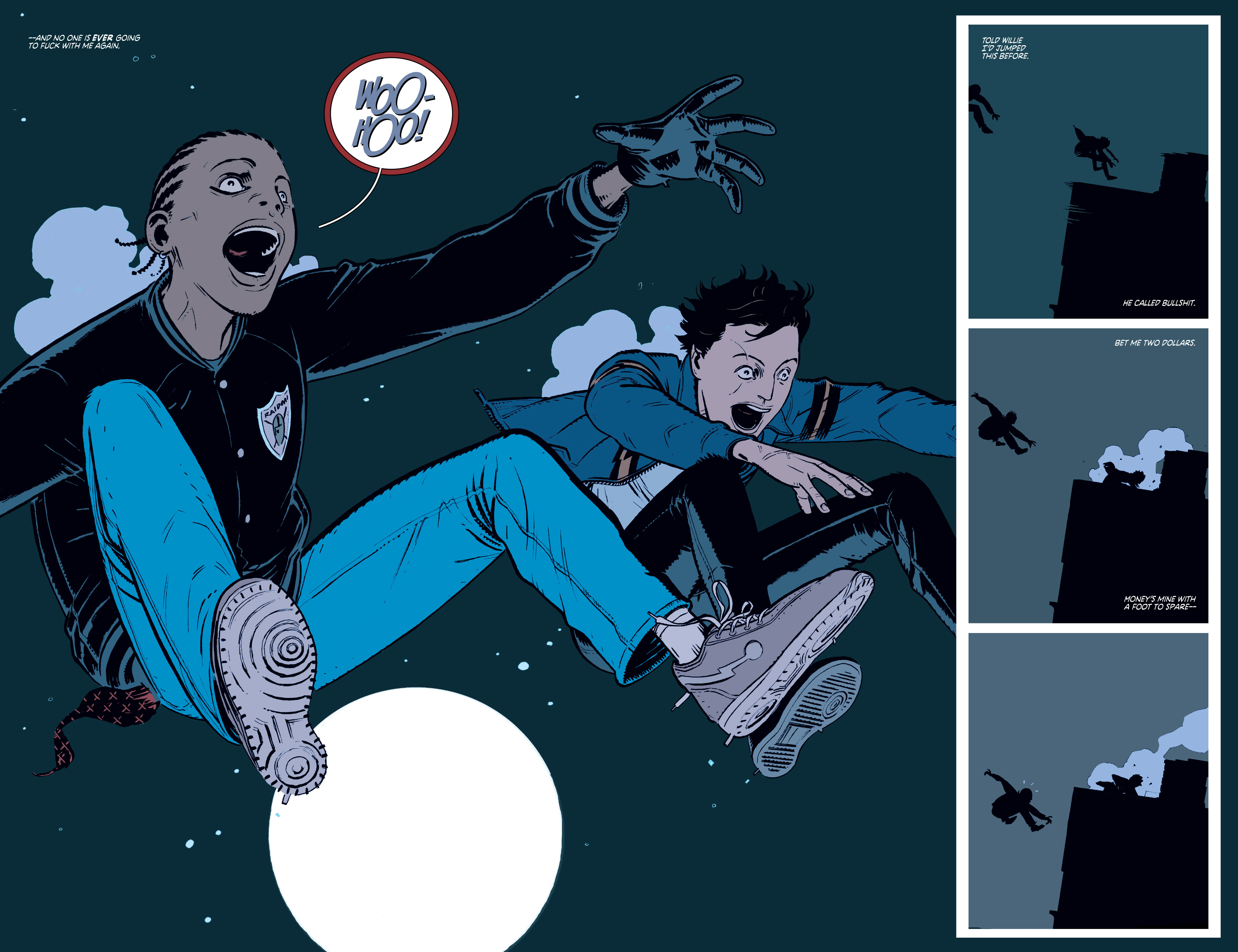 Read online Deadly Class comic -  Issue #3 - 4