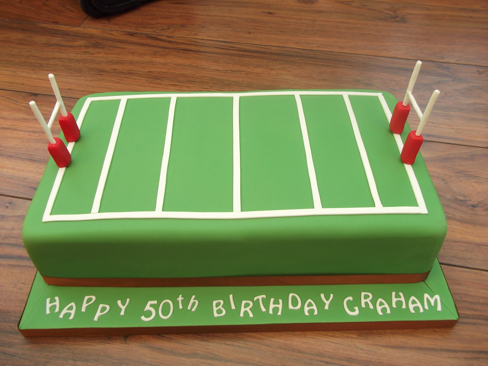 Cakes By Karen Rugby Pitch