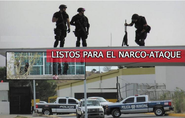 VIDEO; ASI ES COMO FRANCOTIRADORES ESPERAN RESCATE DE NARCOS TRAS RECIBIR AMENAZAS