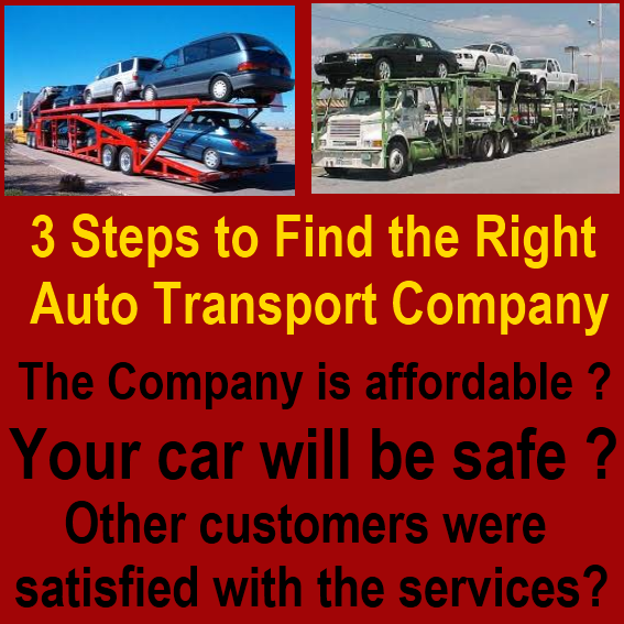 Best Of The Best: 3 Steps To Find The Right Auto Transport