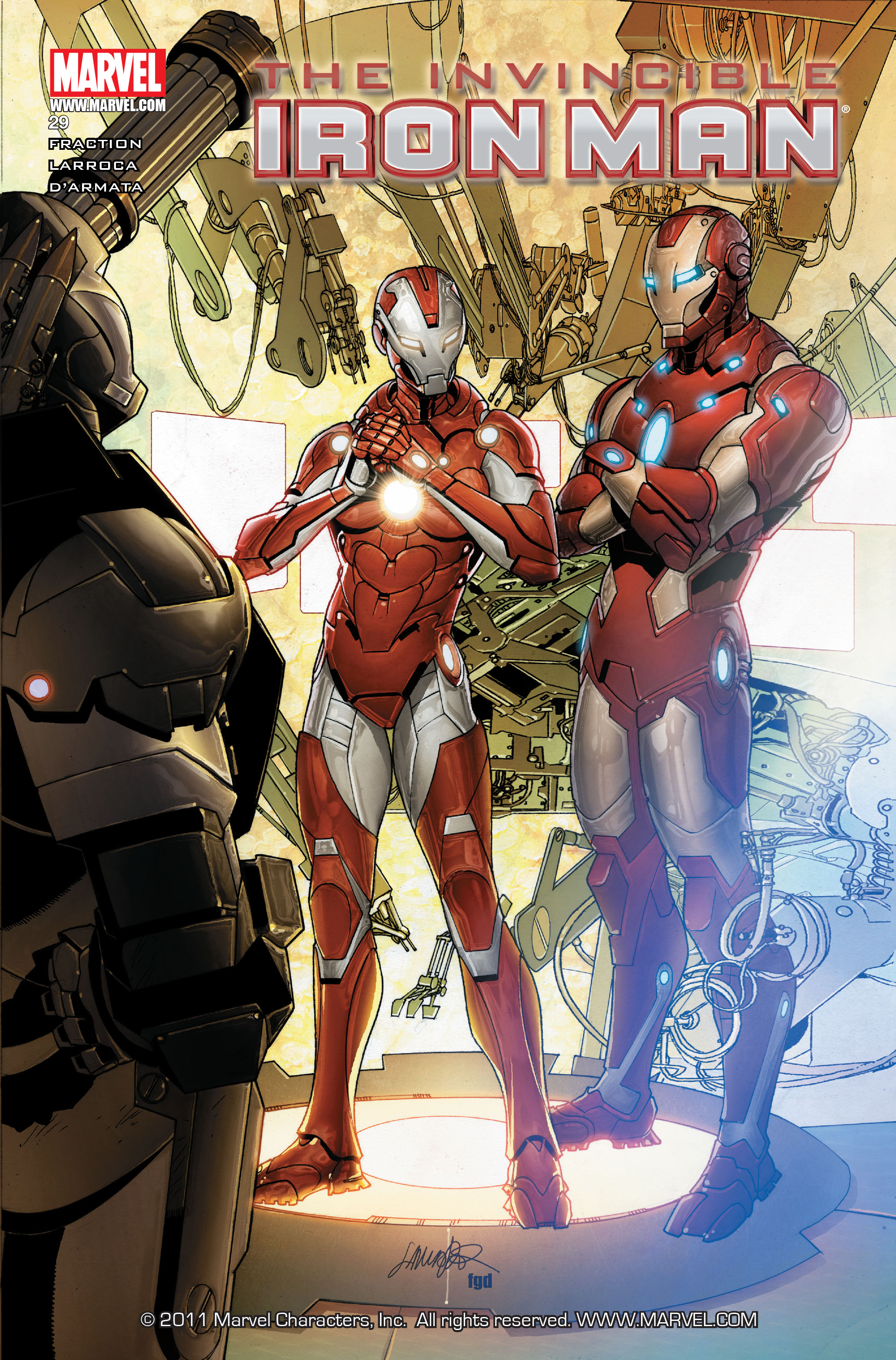 Invincible Iron Man (2008) 29 Page 1