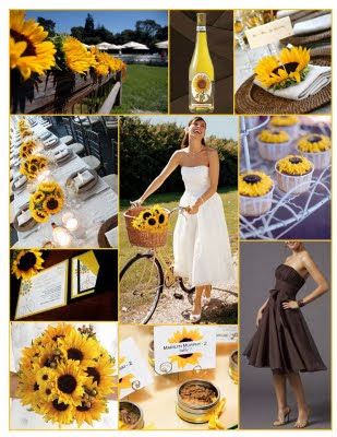 Sunflower Wedding Theme