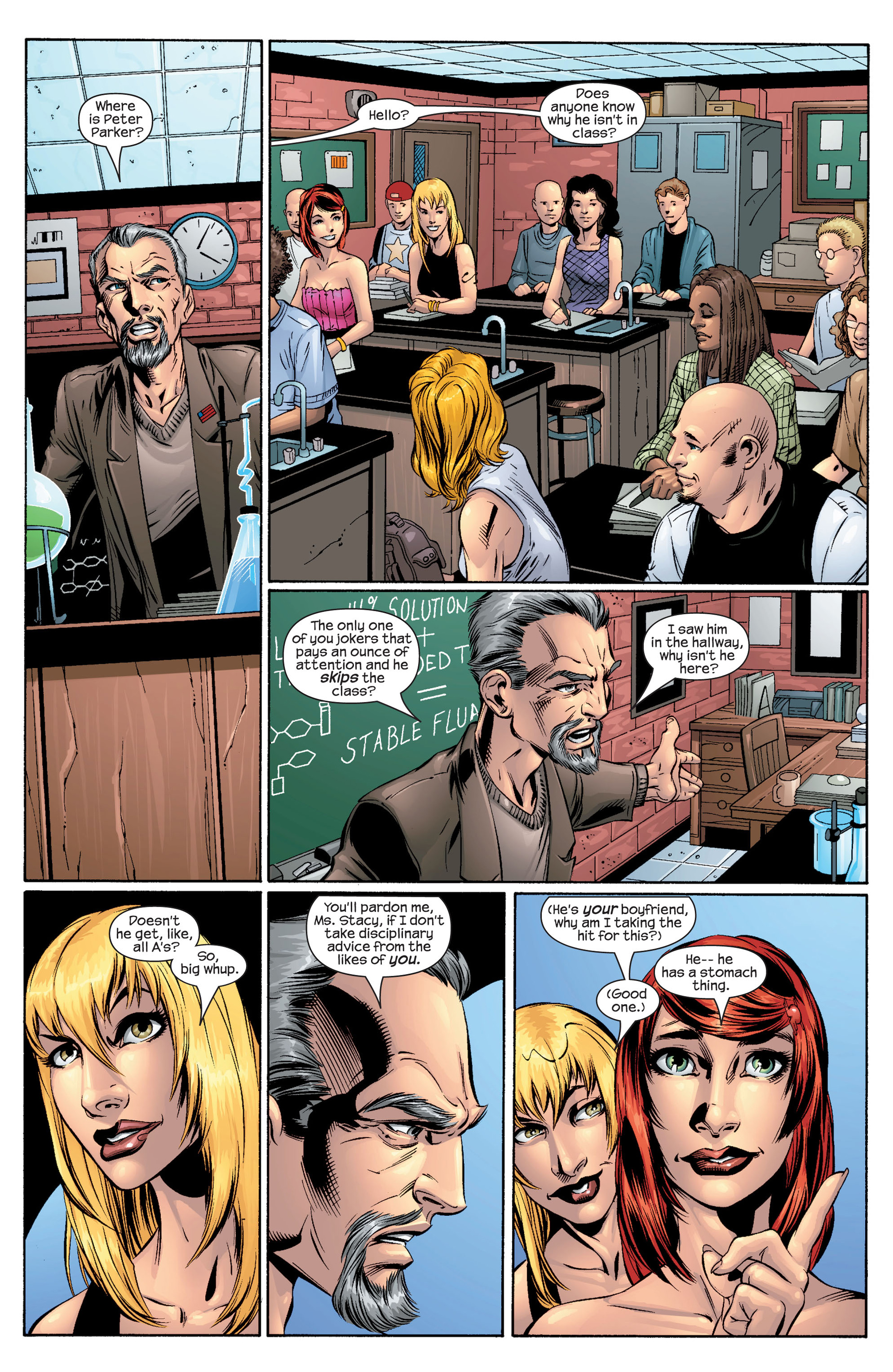 Read online Ultimate Spider-Man (2000) comic -  Issue #43 - 3