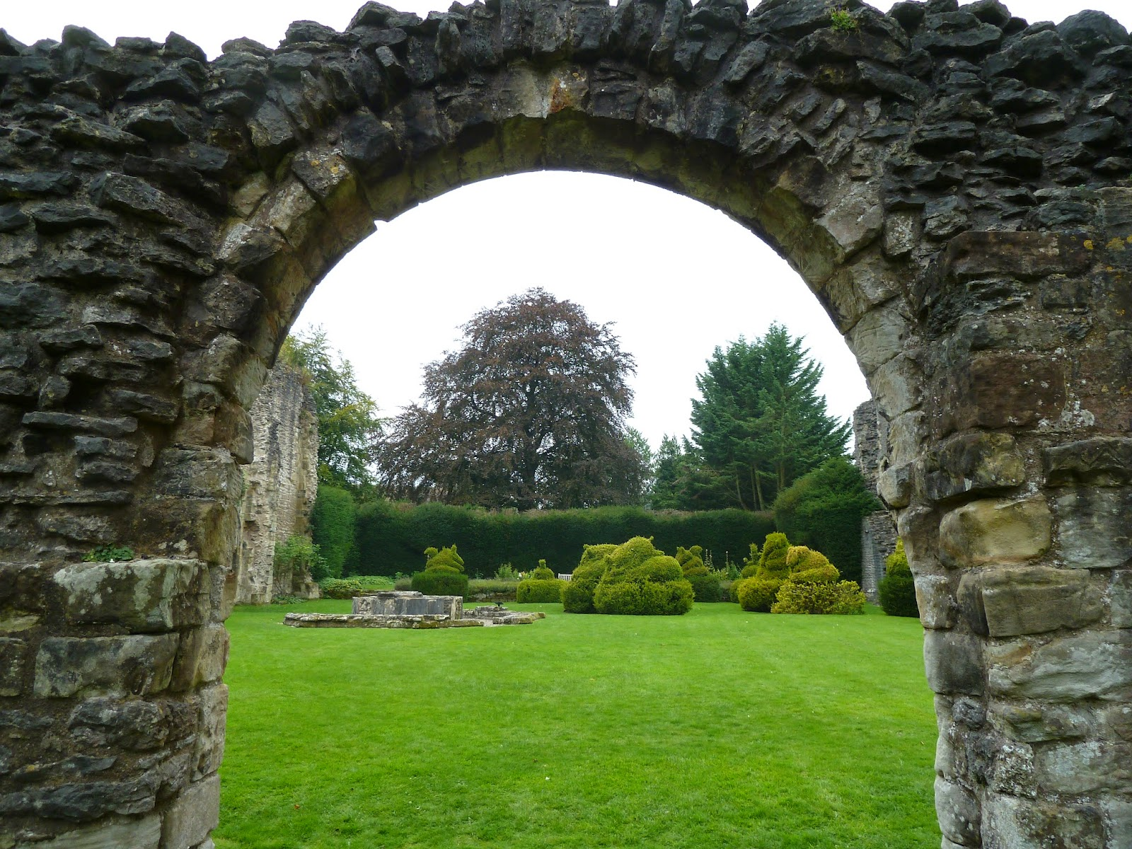 English Heritage Wenlock Priory Shropshire