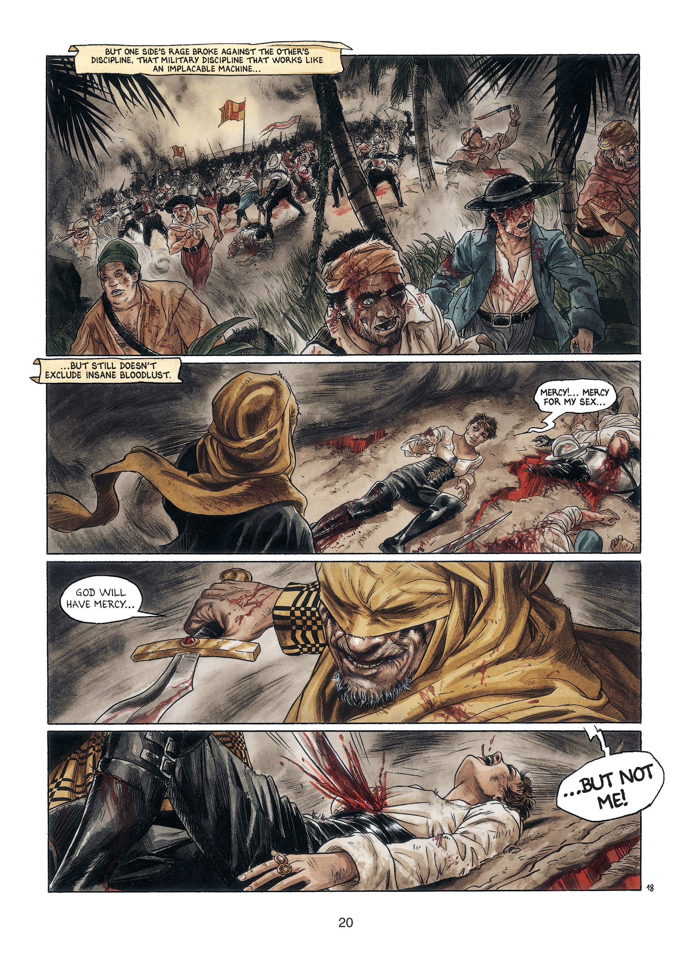 Read online Barracuda comic -  Issue #4 - 21