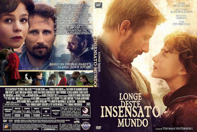 Capa DVD Longe Deste Insensato Mundo