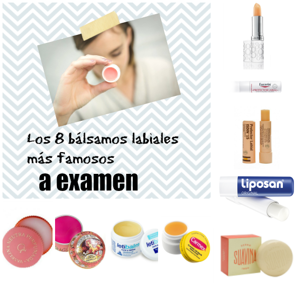 balsamos labiales protector labial INCI ingredientes review