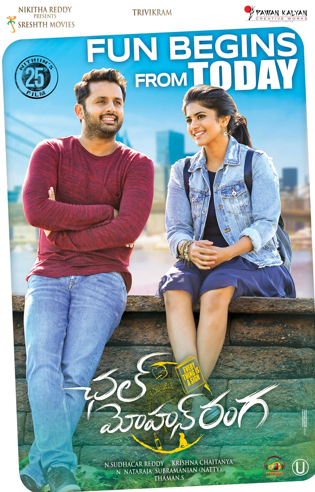 A…Aa 2 (Chal Mohan Ranga) 2019 Hindi Dubbed 720p HDRip 800MB Download