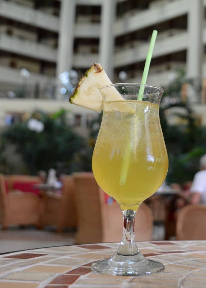 The all inclusive Cocktail menu at Blau Varadero, Cuba - havana special