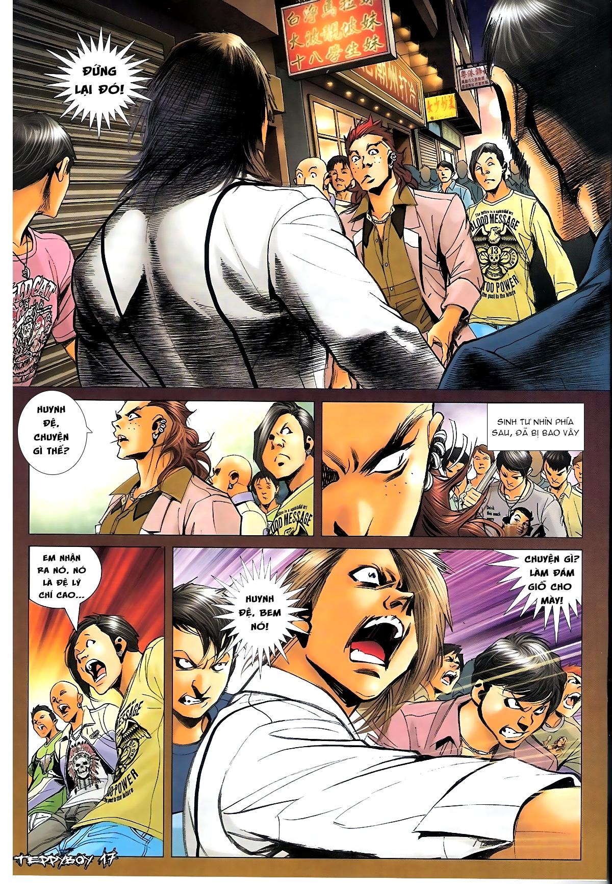 Người Trong Giang Hồ - Chapter 1350: Chơi tới cùng 2 - Pic 15