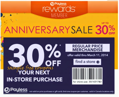 image regarding Payless Printable Coupons known as Payless coupon codes printable oct 2018 - Coupon mouse