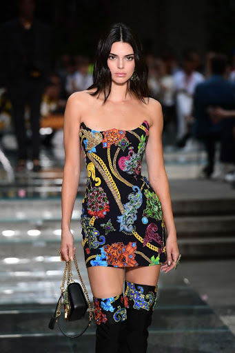 Kendall Jenner – Versace Show S/S 2019