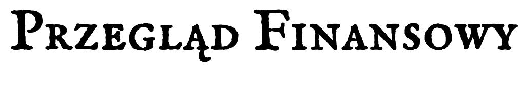 Przegląd Finansowy
