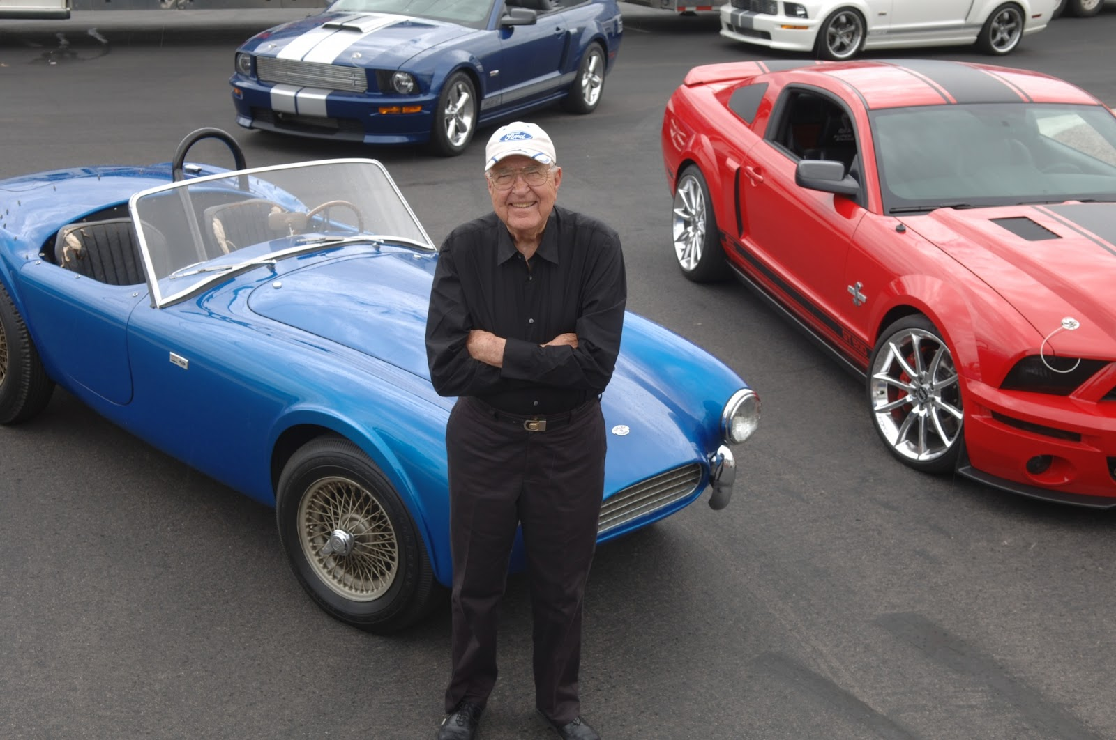 Carroll Shelby's First Shelby Cobra ( VIDEO )