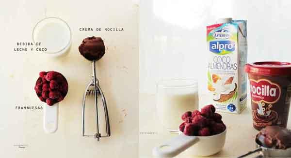 smothie de nocilla y leche de coco -kidsandchic-quebox -singluten