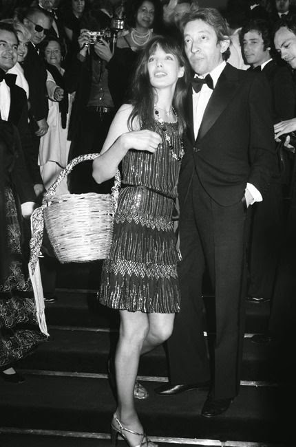 Jane Birkin, Serge Gainsbourg, black and white, style-icon
