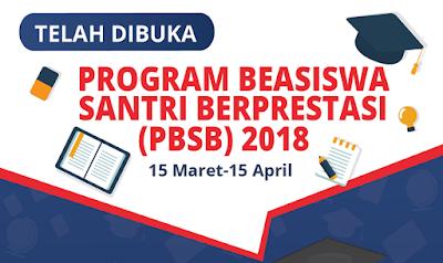 Info Beasiswa Pesantren 2018