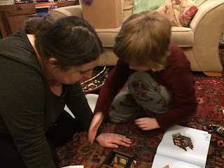 Building toys at Christmas, the back ache and the love