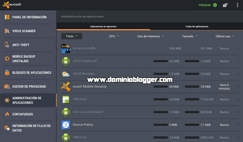 Protege tu telefono con Mobile Security and Antivirus de Avast
