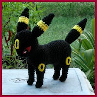 Umbreon amigurumi