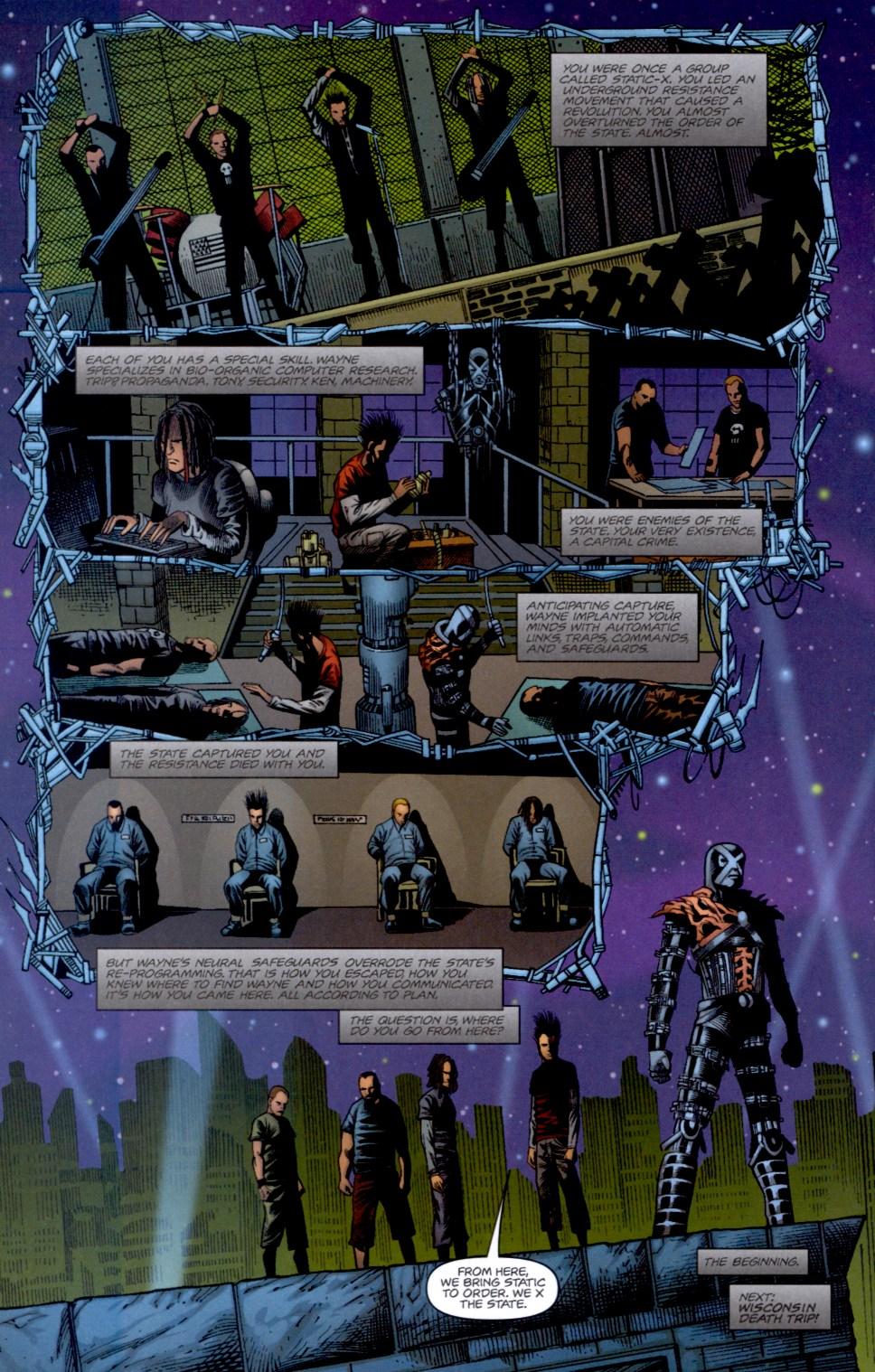 Read online Static-X: Machine comic -  Issue # Full - 20