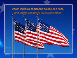 Happy Memorial Day 2016: death leaves a heartache no one can heal, love leaves
