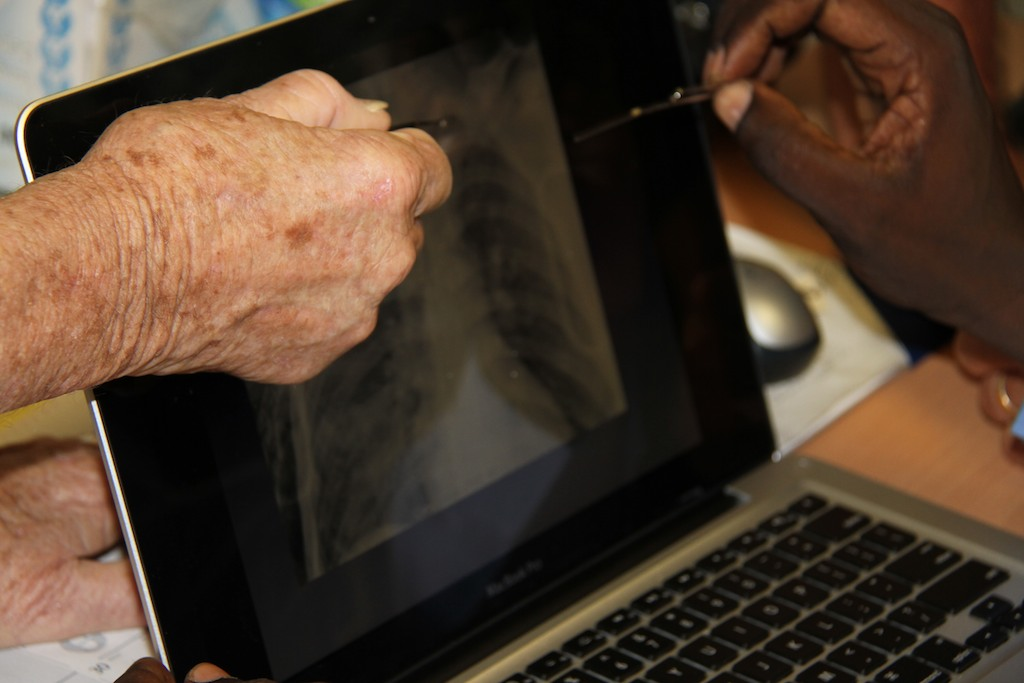 Radiology in Haiti: Radiology Education Days Exceeds