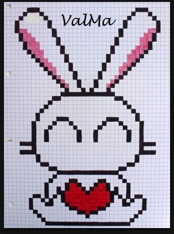 Les Créas De Valma Mes Nouveaux Dessins Pixels Pixelart