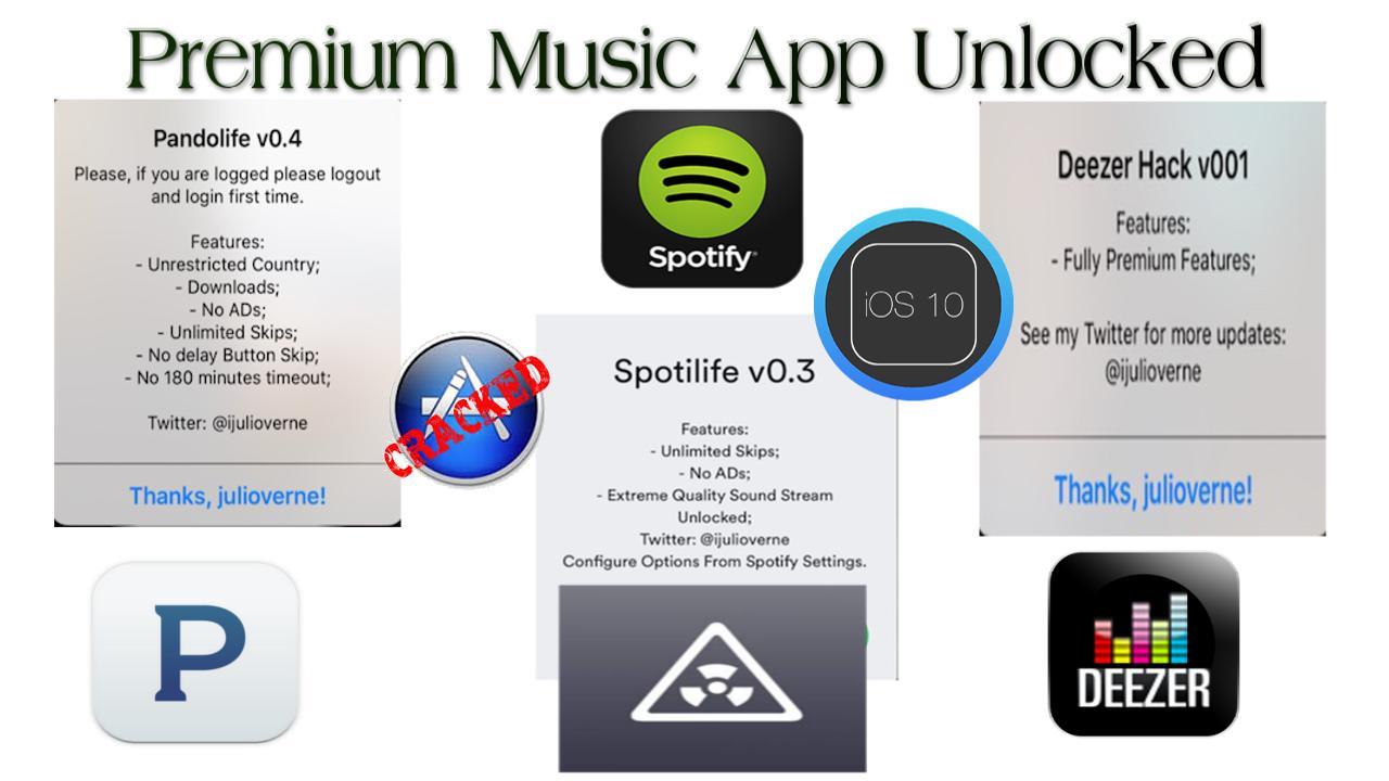 AskUncleDave: iOS 10+ Premium Music Services No Jailbreak