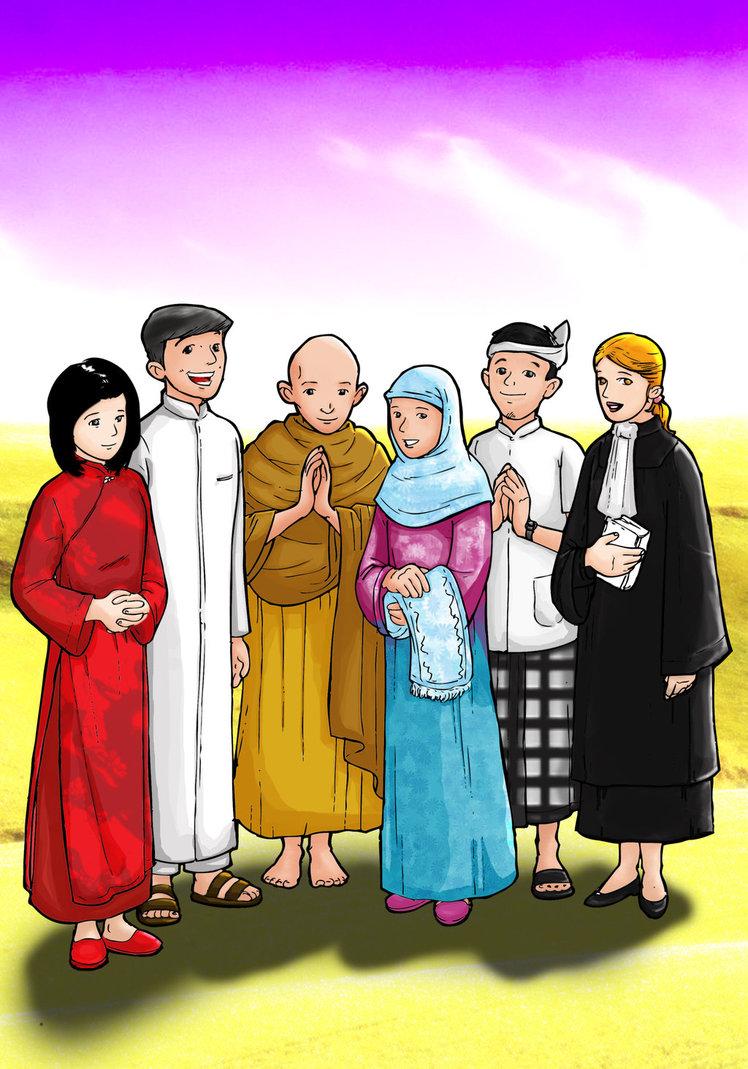 Imanku Mendamaikan Dunia: PENGERTIAN KERUKUNAN UMAT BERAGAMA