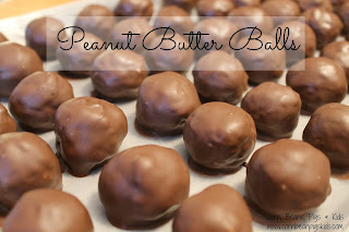 Christmas Cookie Must - Peanut Butter Balls Recipe
