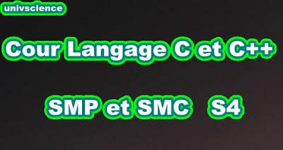 Cours Informatique  SMP-SMC S4 PDF