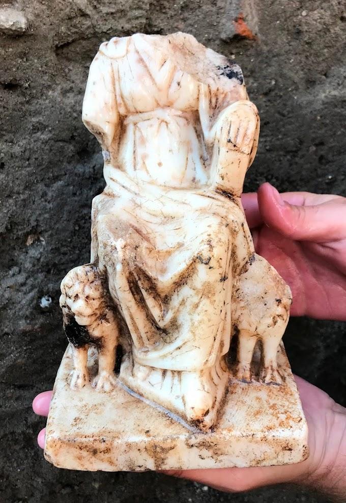 Αγαλμάτιο της θεάς Κυβέλης του 2  ου αιώνα βρέθηκε στην Φιλιππούπολη