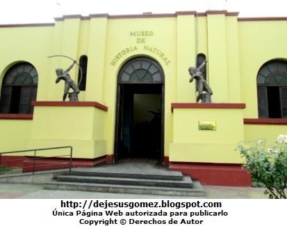 Foto de la fachada del Museo de Historia Natural por Jesus Gómez
