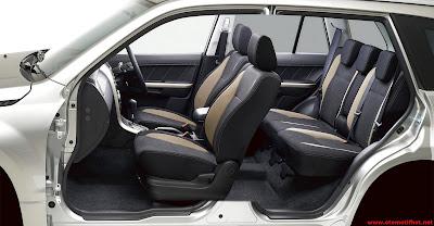 Interior Mobil Grand Vitara