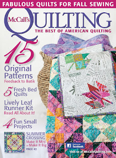 Violet Posies quilt pattern by Jennifer S. Thomas