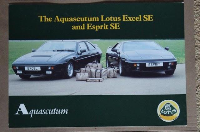 Responsible Lotus Esprit Post Card Brochure Sales Literature Lotus Vehicle Parts & Accessories