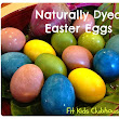 Clubhouse Easter Eggs, Naturally Dyed and Decorated