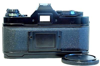 Canon AE-1 Program, Back