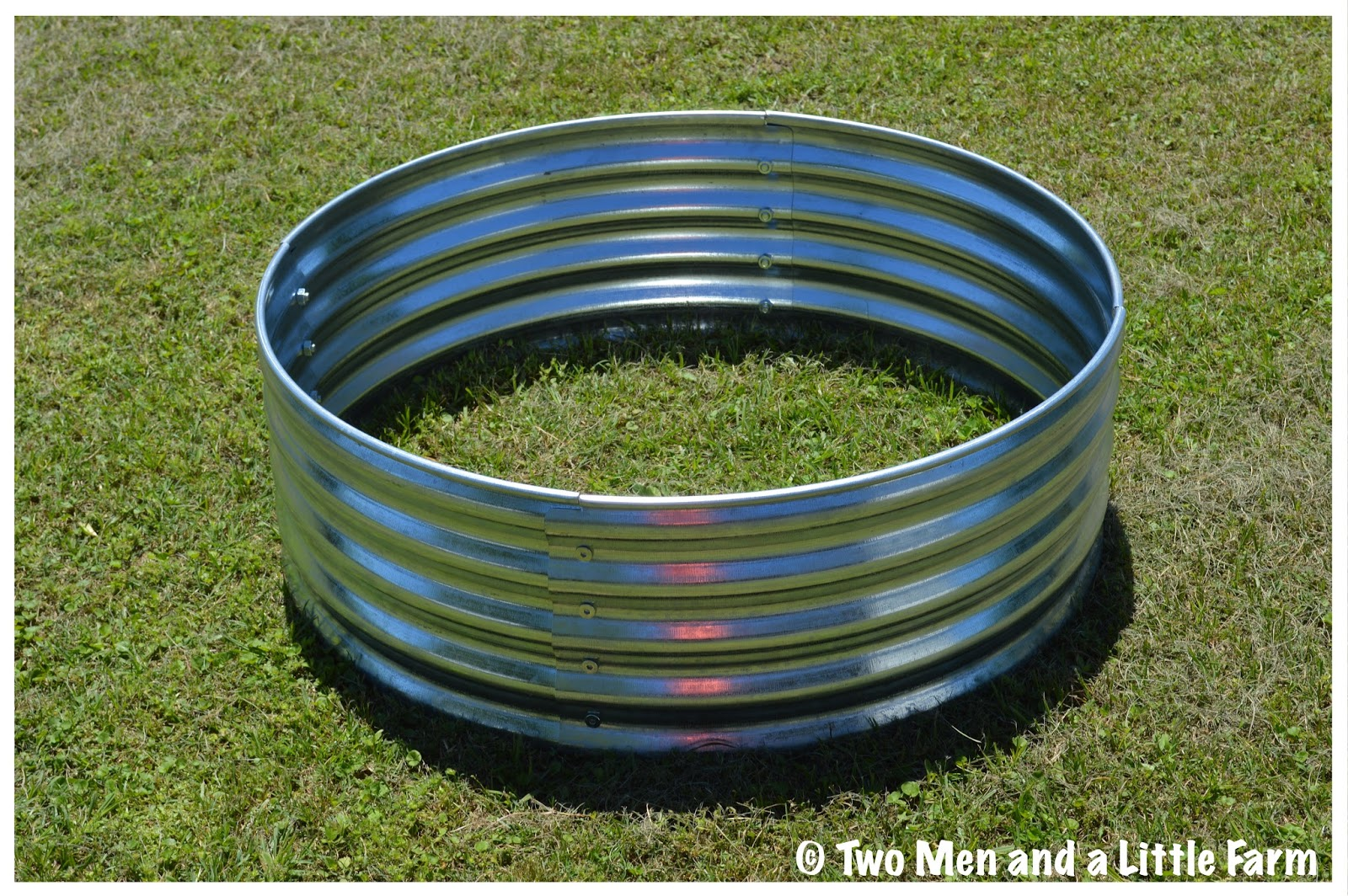 galvanized fire ring planter - Fire Rings