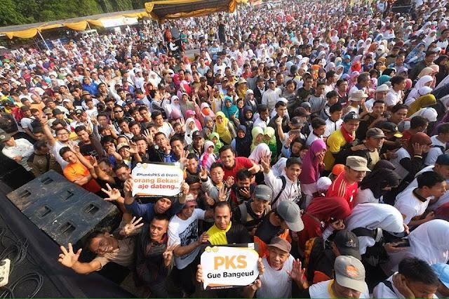Dalam Rangka Munas PKS, 10 Ribu Warga Padati Kegiatan Rakyat
