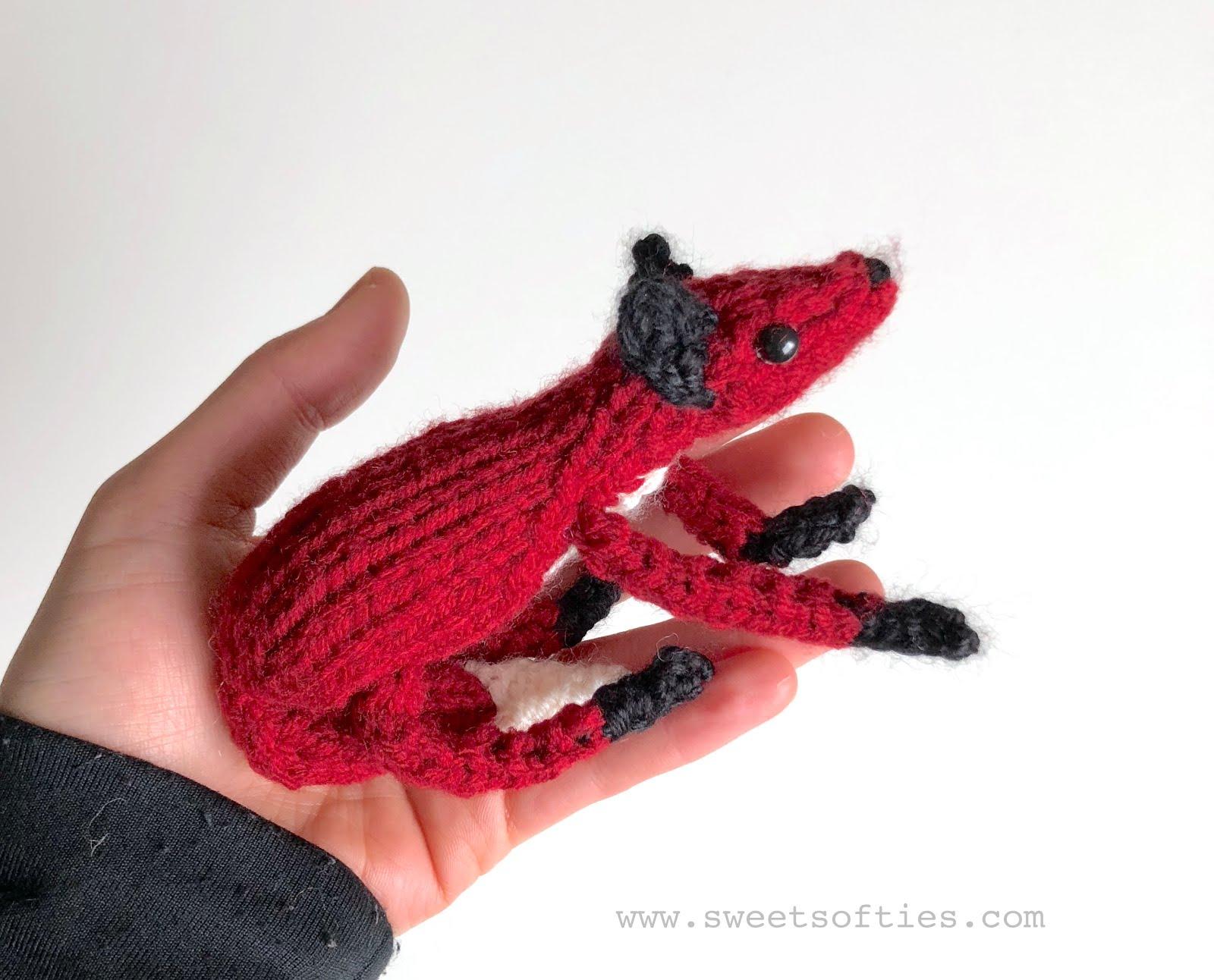 Ginger the adorable crochet fox amigurumi ready to ship | 1292x1600