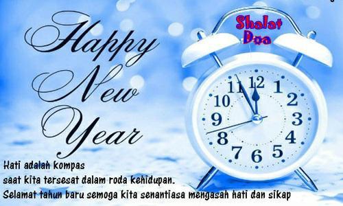 Kumpulan Kata Mutiara Ucapan Selamat Menyambut Tahun Baru