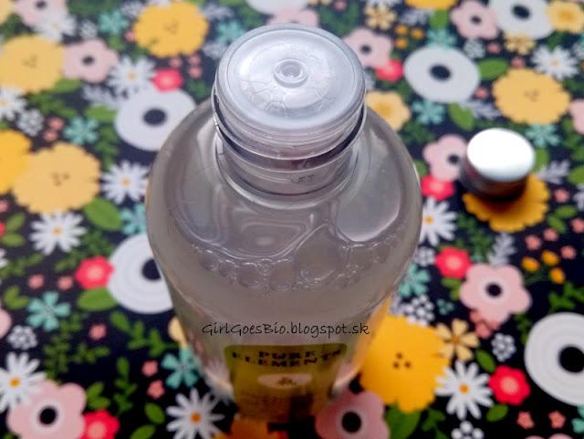 Pure Elements bio cistiaci pletovy toner s frangipani a hamamelis