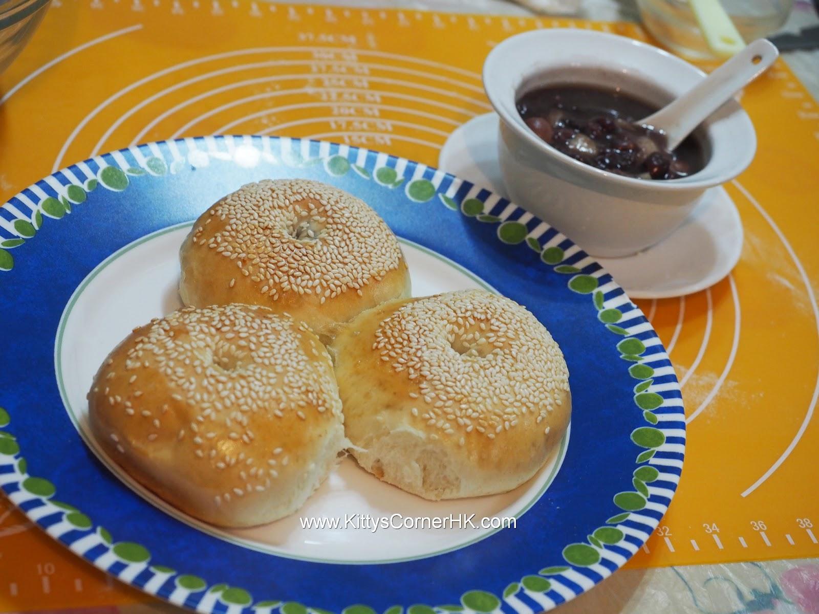Red Bean Sesame Bread 紅豆芝麻包 自家烘焙食譜