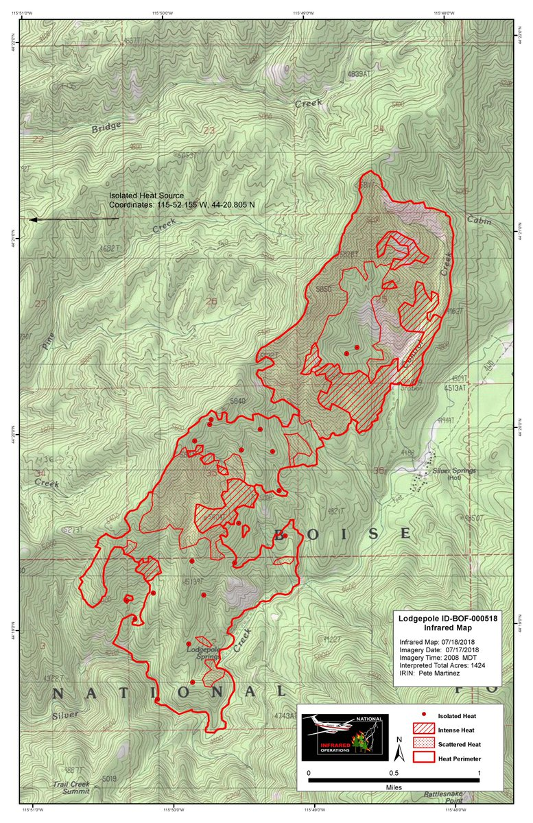 Idaho Fire Information Lodgepole Fire On The Boise National Forest