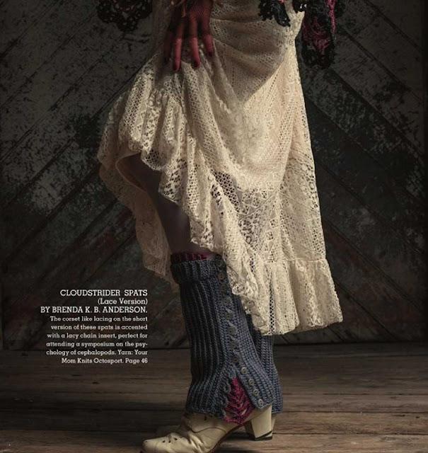 Patrón #1216: Cloudstrider Spats a Crochet