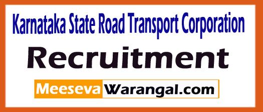 Karnataka State Road Transport Corporation Recruitment